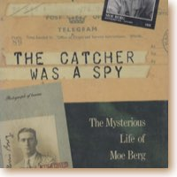 book cover of catcher was a spy.