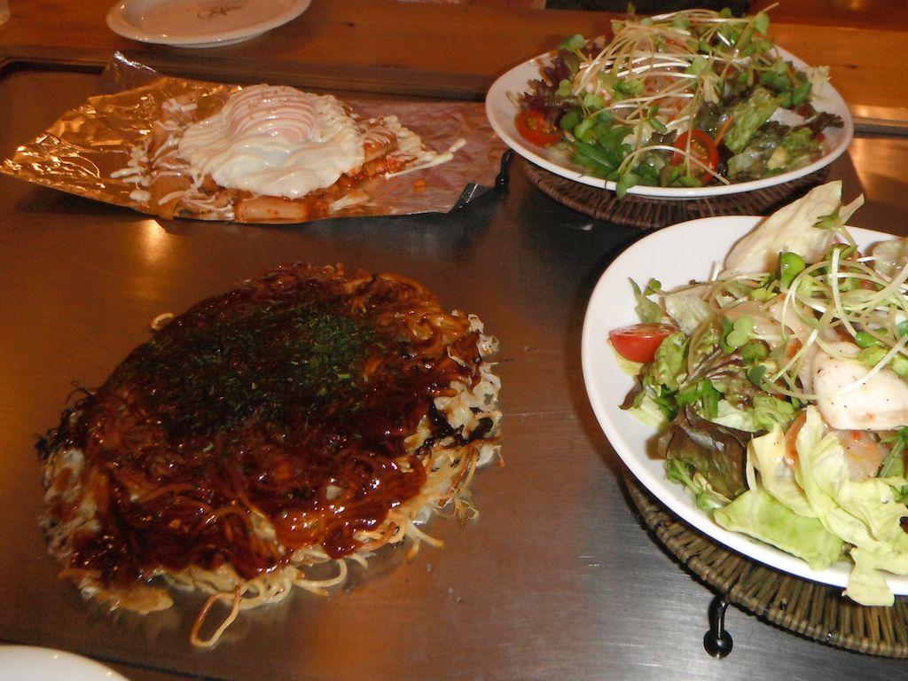 Okonomiyaki, Hiroshima Style Recipe — Dishmaps